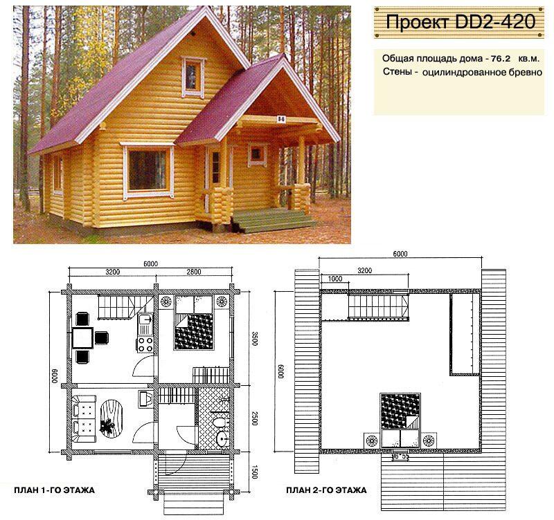 Деревянные дома фото до 100 кв м